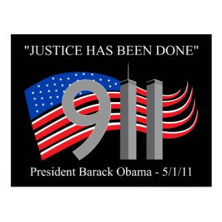 Osama bin Laden - se ha hecho la justicia Postal