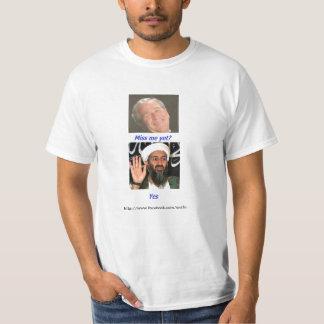 Osama Misses Bush T-Shirt