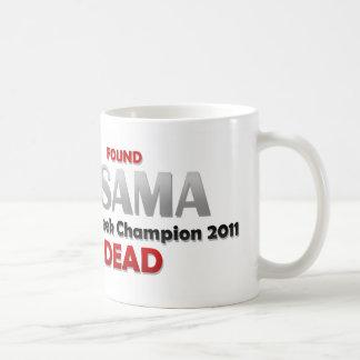 Osama's Dead Coffee Mug
