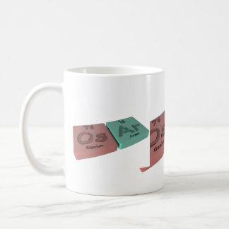 Osar as Os Osmium and Ar Argon Coffee Mug