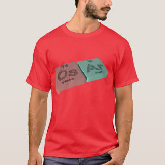 Osar as Os Osmium and Ar Argon T-Shirt
