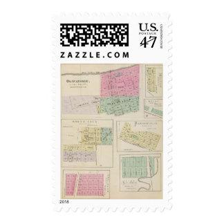 Osawatomie, White City, Delavan, Milton, Kansas Postage