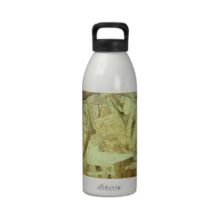 OSB Chip Board Plywood Reusable Water Bottle