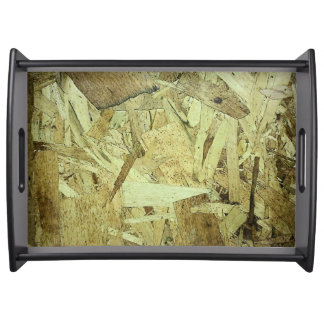 OSB Chip Board Plywood Serving Tray