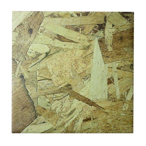 osb chip board plywood tile zazzle. Black Bedroom Furniture Sets. Home Design Ideas