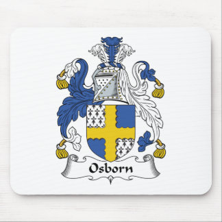 Osborn Family Crest Mouse Pad