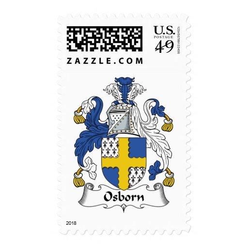 Osborn Family Crest Postage