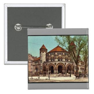 Osborn Pasillo, universidad Photochrom raro de Yal Pins