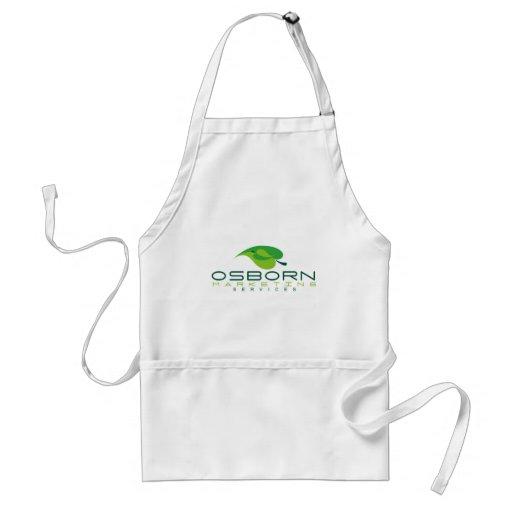 osborn que comercializa el logotipo verde delantal