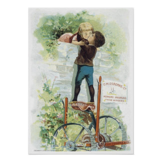 Osborne and Co Mowers Poster