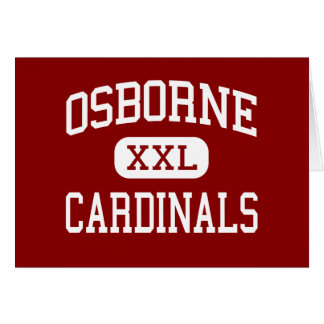 Osborne - Cardinals - High - Marietta Georgia Greeting Cards
