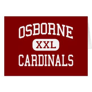 Osborne - Cardinals - High - Marietta Georgia Greeting Card