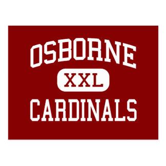 Osborne - Cardinals - High - Marietta Georgia Postcard