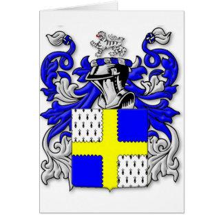 Osborne Coat of Arms Greeting Card