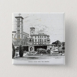 Osborne House from the Grounds Pinback Button