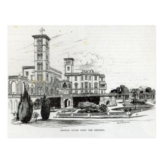 Osborne House from the Grounds Postcard