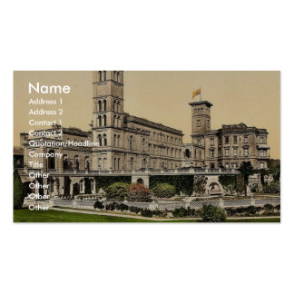 Osborne House, Isle of Wight, England magnificent Business Card