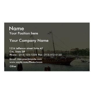 Osborne, royal yacht magnificent Photochrom Business Cards