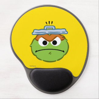 Oscar Angry Face Gel Mouse Pad