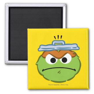 Oscar Angry Face Magnet