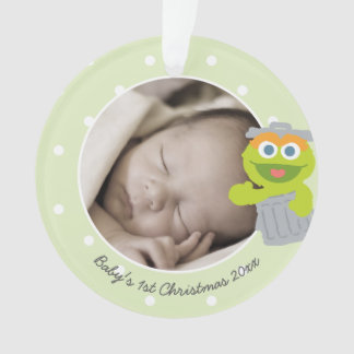Oscar   Baby's First Christmas - Add Your Name Ornament