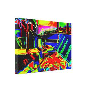 Oscar Bluemner - Evening Tones (Modified) Canvas Print