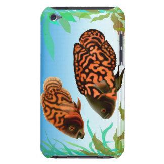 Oscar Cichlid Fish Speck Case