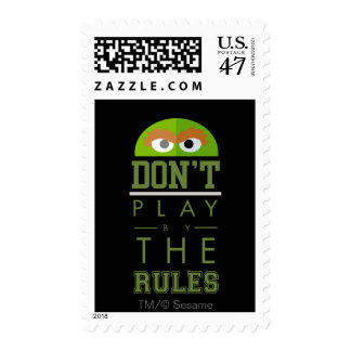 Oscar Don't Play by Rules Postage
