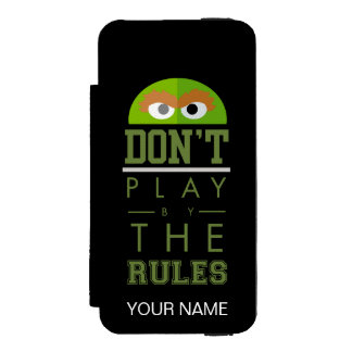 Oscar Don't Play by Rules Incipio Watson™ iPhone 5 Wallet Case
