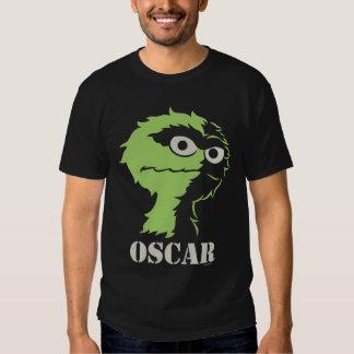 Óscar el Grouch medio Playera