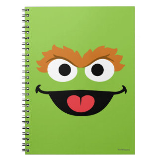 Oscar Face Art Notebook