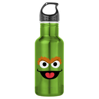 Oscar Face Art Water Bottle