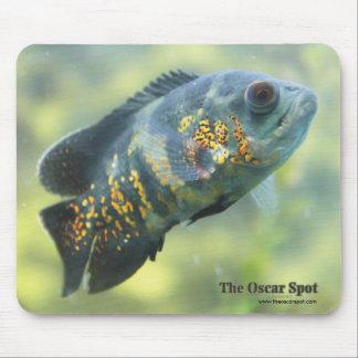 Oscar Fish Mouse Pad