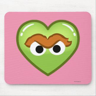 Oscar Heart Mouse Pad
