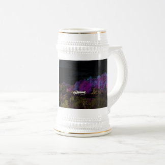 oscar leaves the party beer stein