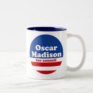 Óscar Madison para la taza del consejo