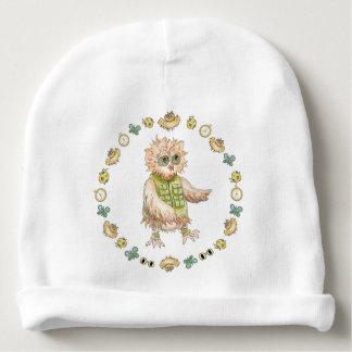 Oscar Owl Baby Hat