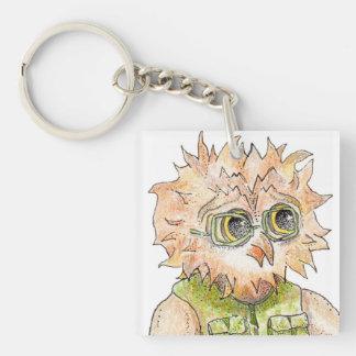Oscar Owl Character Key Chain