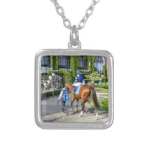Oscar Performance Silver Plated Necklace