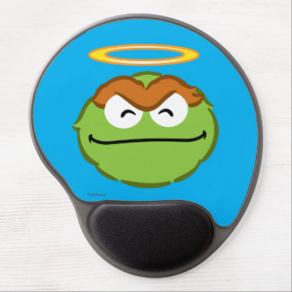 Oscar Smiling Face with Halo Gel Mouse Pad