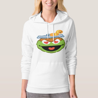Oscar Smiling Face with Heart-Shaped Eyes Hoodie