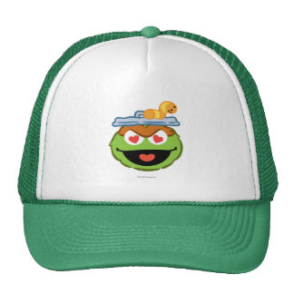 Oscar Smiling Face with Heart-Shaped Eyes Trucker Hat
