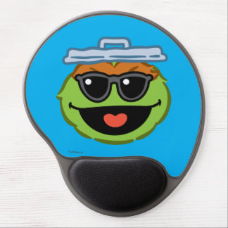 Oscar Smiling Face with Sunglasses Gel Mouse Pad