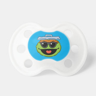 Oscar Smiling Face with Sunglasses Pacifier