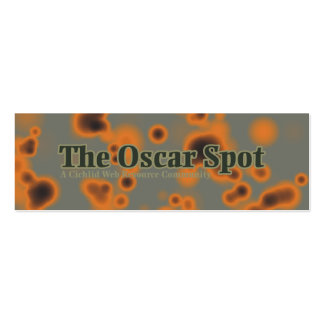 Oscar Spots Mini Business Card