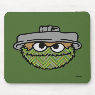 Oscar the Grouch | 80's Throwback Mouse Pad