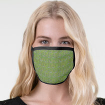 Oscar the Grouch | 80's Throwback Pattern 3 Face Mask