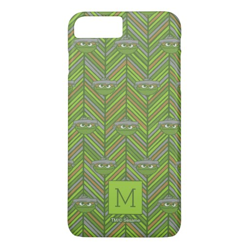 Oscar the Grouch | 80's Throwback Pattern iPhone 8 Plus/7 Plus Case