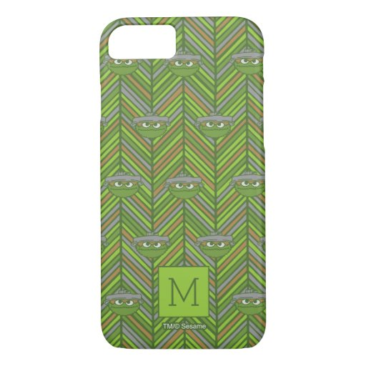 Oscar the Grouch | 80's Throwback Pattern iPhone 8/7 Case