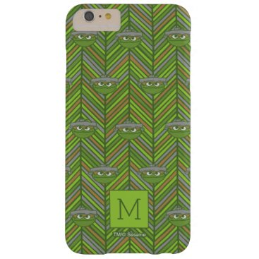 Oscar the Grouch | 80's Throwback Pattern Barely There iPhone 6 Plus Case